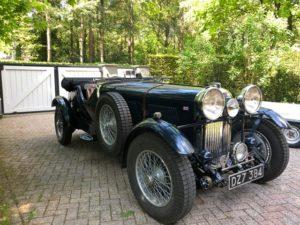 Lagonda LG 45, 1937