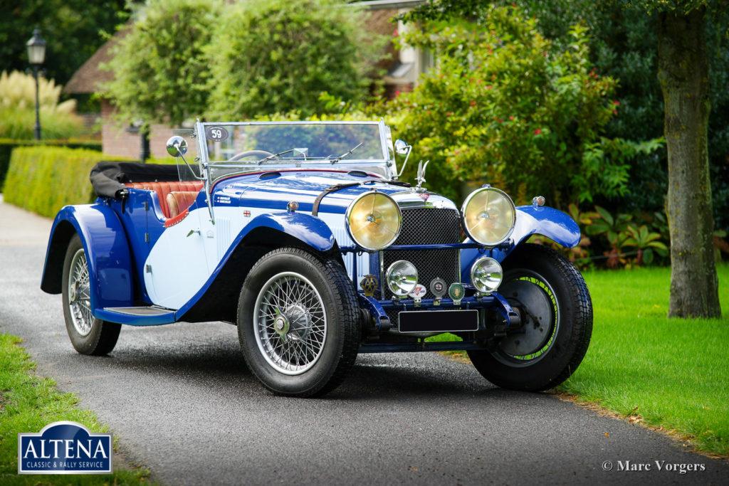 Alvis Speed 20 SA, 1933