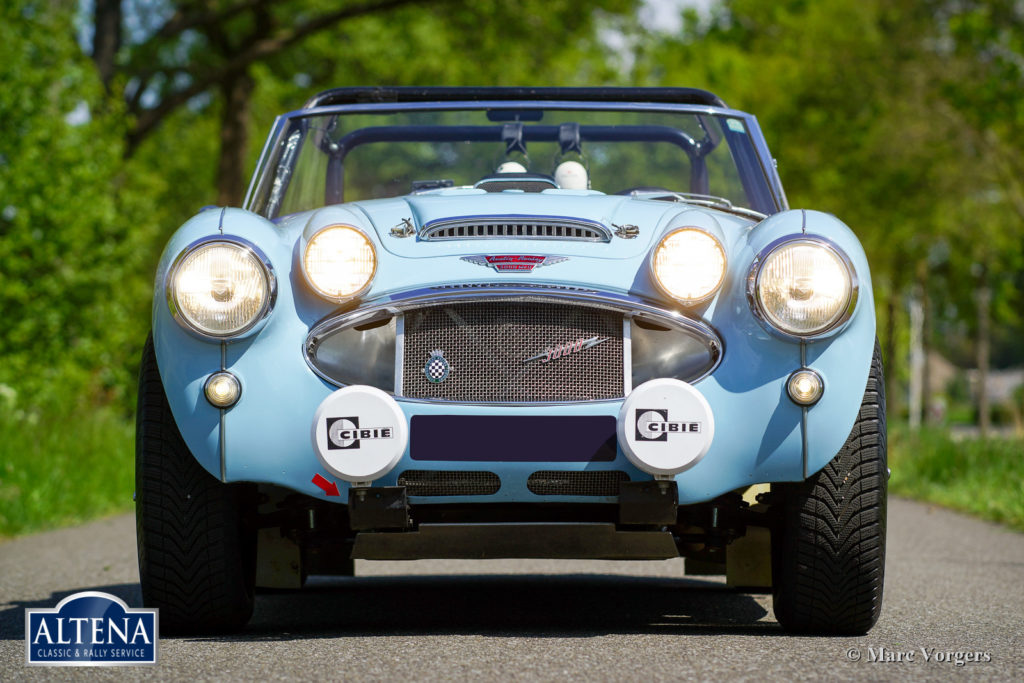 Austin Healey MK IIa Rally , 1964