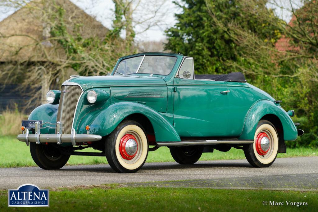 Chevrolet Master 525 Cabriolet, 1937