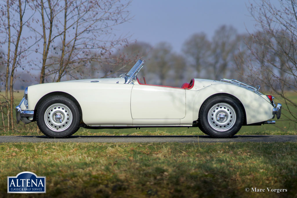 MG A Twin Cam Roadster, 1958