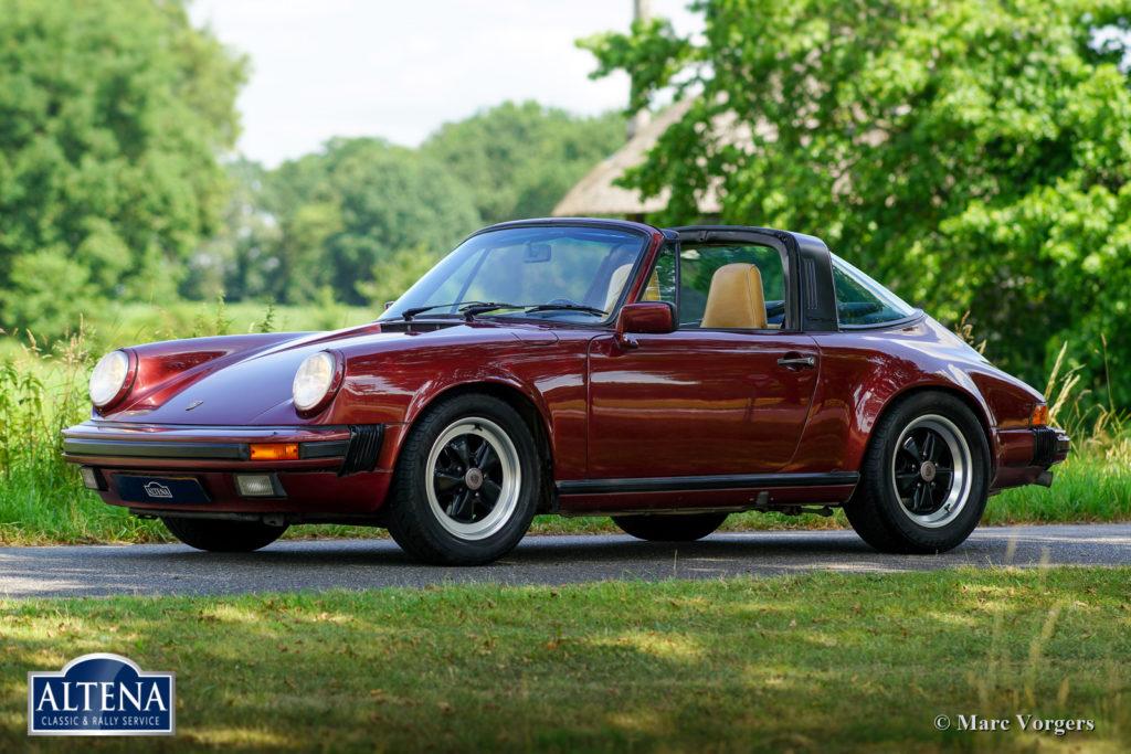 Porsche 911 Targe, 1985