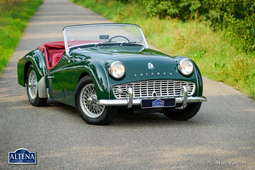 Triumph Tr3 B, 1962