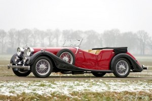 Alvis Speed 25 Cross & Ellis Tourer, 1938