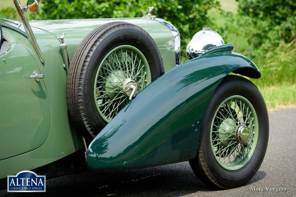 Bentley 3 ½ litre sports, 1934