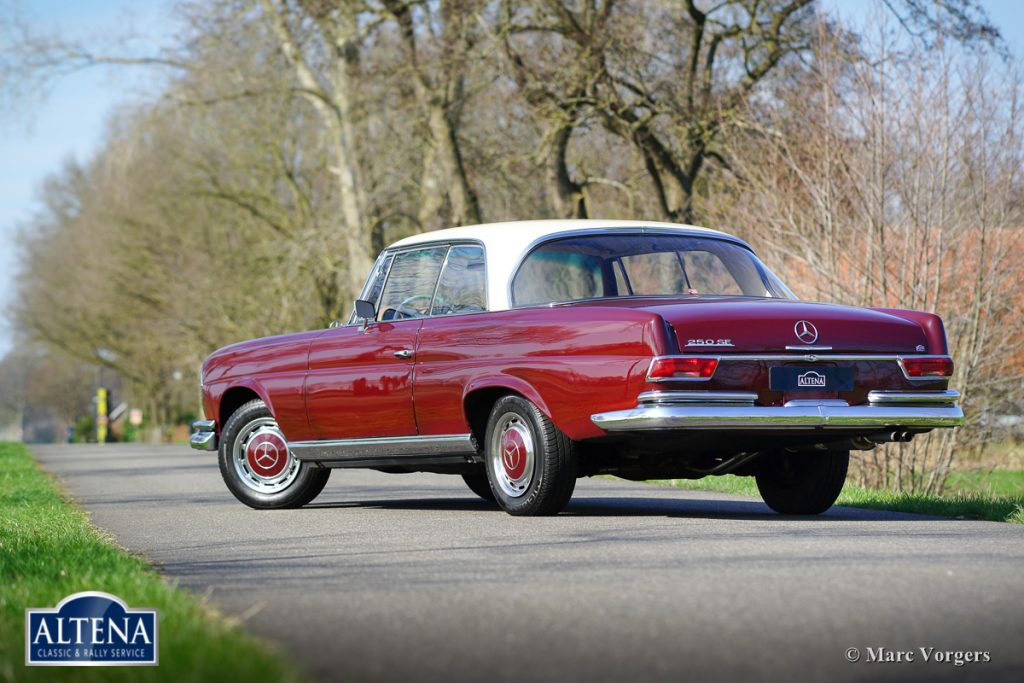 Mercedes 250se 1968 altena classic service for Mercedes benz 250 se