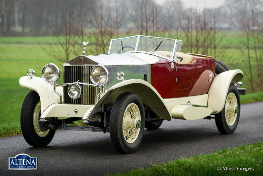 Rolls Royce Phantom I Boat-tail Tourer, 1928