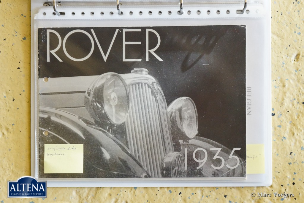 Rover 14 HP Streamline saloon