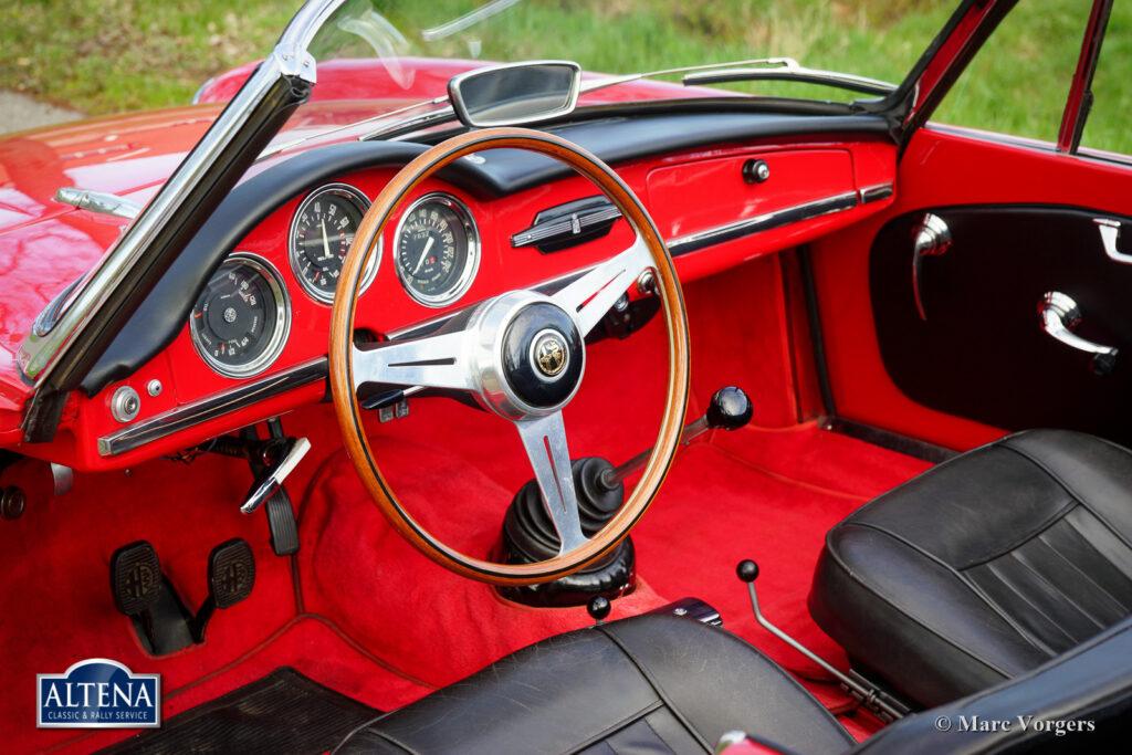 Alfa Romeo Giulia 1600 Spider, 1963