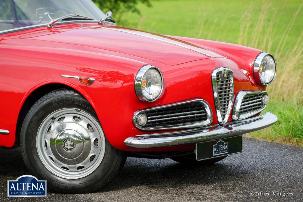 Alfa Romeo Giulietta, 1962