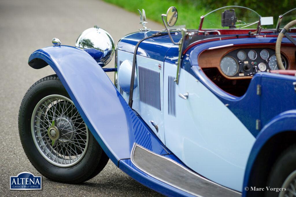 Alvis Speed SA, 1933