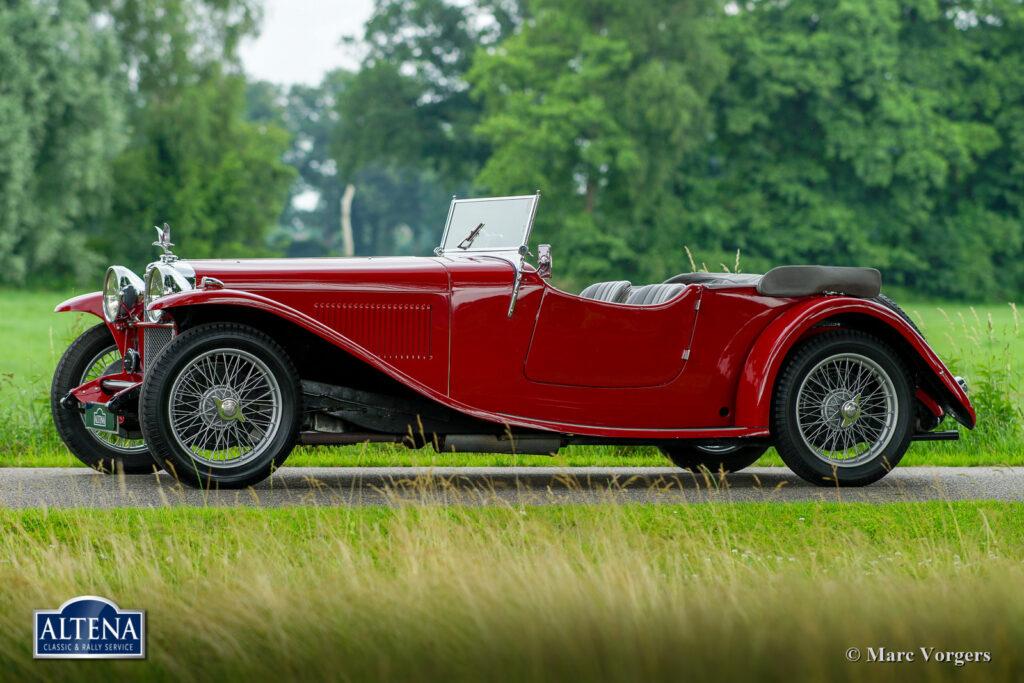 Alvis Speed 20 SA, 1932