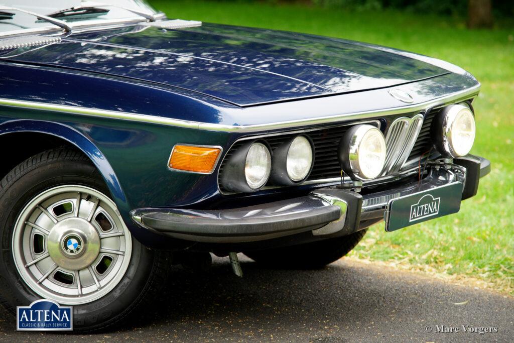 BMW 3.0 CS Rally, 1972