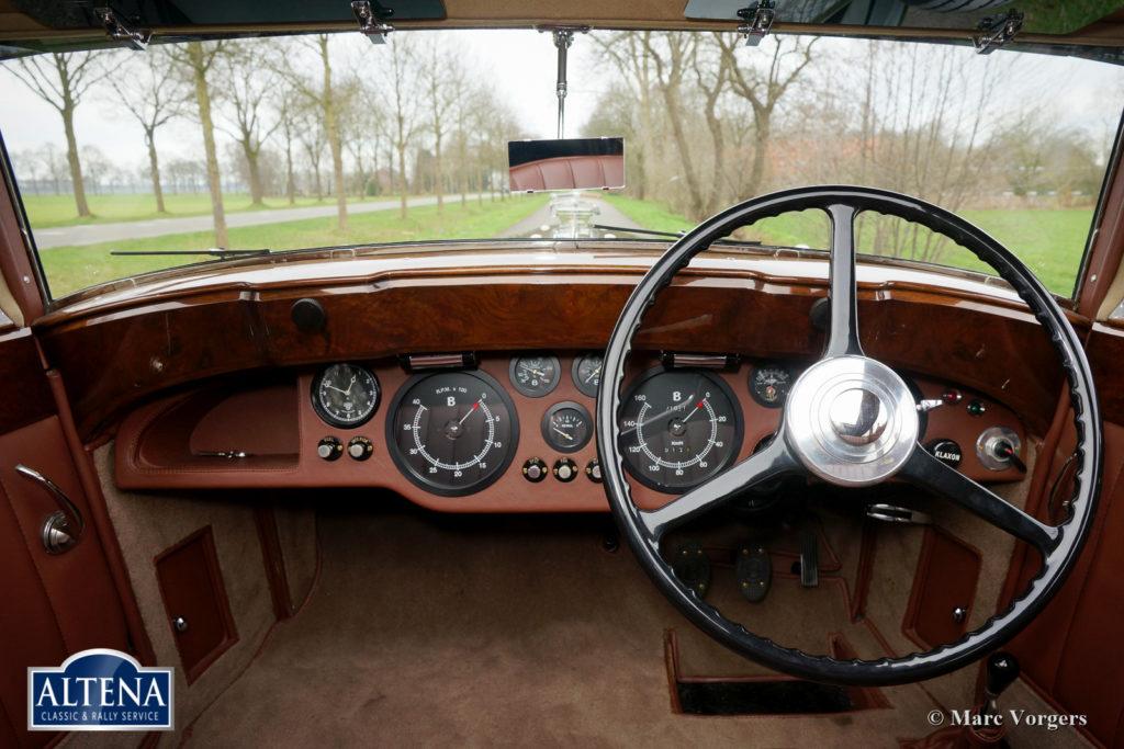 Bentley Blue Train, 1950
